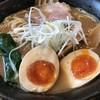 拉麺 阿吽 - 料理写真:秋刀魚拉麺@810円大盛り+100円味玉トッピング+100円
