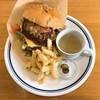ハラペコカフェ - 料理写真:チェダーチーズ・ビーフハンバーガー