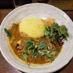 SPICY CURRY 魯珈 - 柚子香る。和出汁チキンカレー