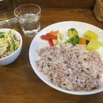 102323290 - カレー3種盛りの雑穀米