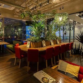 名古屋初の『ボタニカル系カフェ』緑あふれる癒しの空間