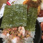 富士岡 - 海苔とふりかけご飯