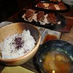 10233558 - 神戸牛3種ステーキ(イチボ・サーロイン・フィレ各50g)