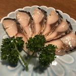 102333177 - 鯖 へしこ炙り(650円)