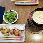 CHEESE CRAFT WORKS - チーズフォンデュランチ①