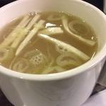 Soupe au poulet 鶏スープ