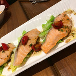 グリルブッフェ&レストラン・バー オードリー - 鮭もいい感じ