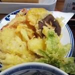 きたみち庵 - 天ぷらそばの天ぷら