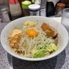 ラーメン 宮郎 - 料理写真:汁なしそば ミニ(750円)ニンニク