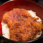 居酒家 Bistro ちゃぶや - ランチ 上ソースカツ丼(小盛り)