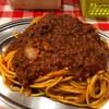 スパゲッティーのパンチョ - 料理写真:ぶっかけミートナポリタン