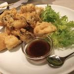 102343510 - 牡蠣の天ぷら♪ 山葵醤油がうまい♡