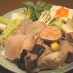山翠 - あんこう鍋(具材)