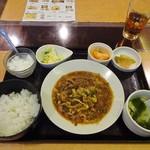 開花 香港海鮮バル - ランチ:麻婆春雨定食