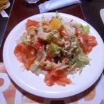 ラージャスターン2 - ラージャスターン野菜サラダ380円