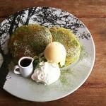 いちしな - 料理写真:伊勢茶パンケーキ