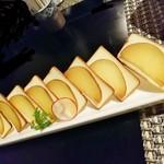 102354172 - いぶりがっこ&チーズ