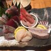 魚真 - 料理写真:刺身盛り合わせ