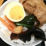 つけ麺 一翔 - 焼肉ラーメンライス!