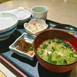 大福うどん - 朝定食[¥445](税別)