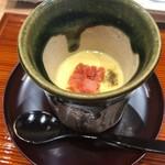 102360054 - 桜の茶碗蒸し ユリ根、梅肉入り