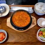 コッテジ - 牡蠣入り豆腐チゲ ランチセット