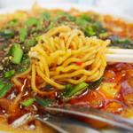 ビンギリ - 麺アップ
