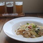 MIYAJIMA BREWERY - お試し3種 スタンダード 牡蠣のクリームスパゲッティ