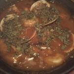 102370403 - 海老と蛤、烏賊の甘海老出汁カレー