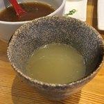 麺匠 蔵 - スープ割り