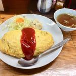 ことぶき家食堂 - 料理写真:オムライス700円