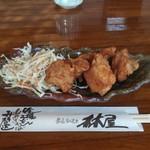 Hayashiya - 鶏の唐揚げ小単品です。