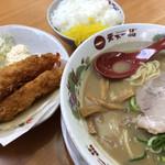 天下一品 - 料理写真:エビフライ定食♪ 970円