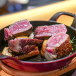 セラフェ - フランス産と国産 熟成牛の盛合せ