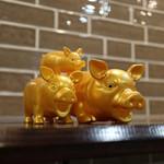 Tonnatokimo PORCO Mamma Mia なんてこったポルコ(伊:ぶた)研究所 - 金の豚☆