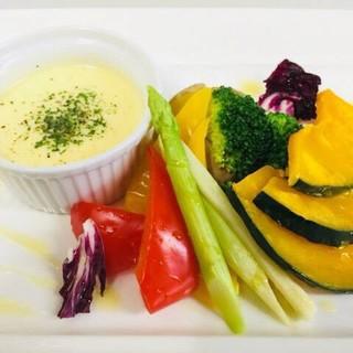 【千産地消】市場から直接仕入れる新鮮なお野菜