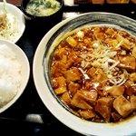 10238861 - 「四川麻婆豆腐」700円也。税込。