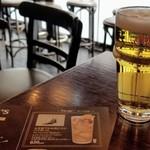 HUB - 生ビール1/2パイント(キリン)¥320リライト