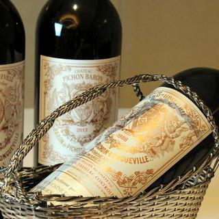 至高の一皿に合わせて想像広がるワインを。ソムリエのセレクトで