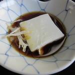 笹乃雪 - 湯豆腐