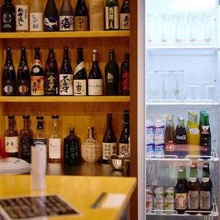 \常時100種以上/日本酒も!ビールも!ぜ~んぶ飲み放題!!