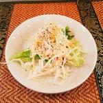 スリランカ料理 ラサハラ - ランチのミニサラダ
