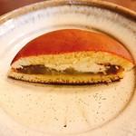 玉川屋 - うぐいす餡にバター