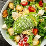 ドッグベリー - アボカドの豆腐シーザーサラダ