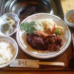 10239353 - 【ランチ】石垣牛のハンバーグと焼き肉