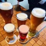 102390639 - みんなのビールが運ばれてきて揃いました!!