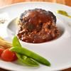 シュヴァルカフェ - 料理写真:ハンバーグ