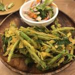 SENGDEE TERRACE - 空芯菜のフリット