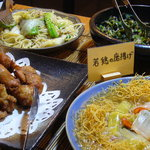 KYOTO DINING 優食かなめ - ランチ1000円で品数あって時間制限なしでお得だった