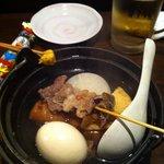 田中んち - おでんがとても美味しかったです。
